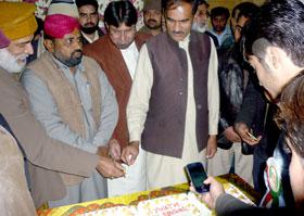 گوجرانوالہ: ڈاکٹر طاہرالقادری کے 64 ویں یوم پیدائش کے موقع پر پروقار تقریب کا انعقاد