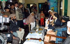 چکوال: ڈاکٹر حسن محی الدین قادری کی شہید انقلاب حافظ محمد رضوان کے اہل خانہ سے ملاقات