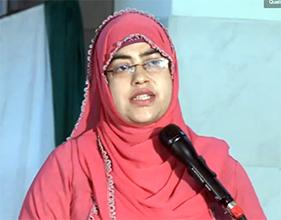 Speech of Razia Naveed (President PAT Women Wing) on 'Ambassador of peace' seminar - Febraury 28, 2015