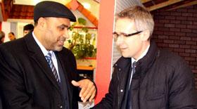 پیرس: حاجی محمد اسلم چوہدری کی Stephane Troussel مشیر عام حکومت فرانس سے ملاقات