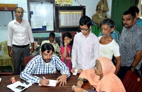 انڈیا: منہاج القرآن انٹرنیشنل کے زیراہتمام فری میڈیکل کیمپ
