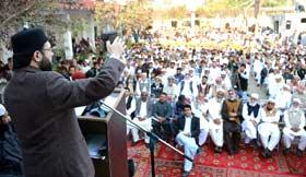 ڈاکٹر طاہرالقادری نے اپنے کارکنوں کو صرف امن کی تعلیم دی: ڈاکٹر حسن محی الدین القادری