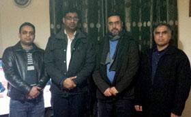 آئرلینڈ: سیرت علی خان کا تنظیمی و تحریکی دورہ