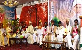 واہ کینٹ (راولپنڈی): منہاج ویلفیئرفائونڈیشن کے زیراہتمام شادیوں کی اجتماعی تقریب