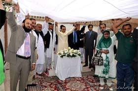 کویت: منہاج القرآن انٹرنیشنل کے وفد کی یوم پاکستان کی تقریب میں شرکت