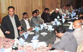 راولپنڈی: پاکستان عوامی تحریک کے رہنماؤں کی آل پارٹیز کانفرنس میں شرکت