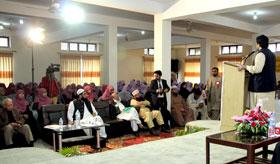Quiz & speech competition held on life of Mujaddid Alf Sani