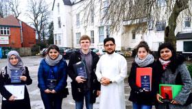 مانچسٹر یونیورسٹی کے طلبہ کا منہاج القرآن سنٹر مانچسٹر کا دورہ