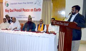 انٹرفیتھ ریلیشنز منہاج القرآن کے وفد کی بین المذاہب دعائیہ تقریب میں شرکت