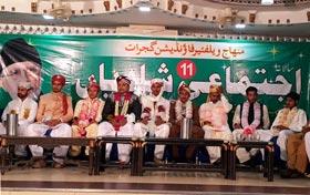 گجرات: منہاج ویلفیئر فاؤنڈیشن کے تحت شادیوں کی اجتماعی تقریب