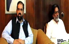 Dr Raheeq Abbasi talks to media in Burewala (JIT on Model town tragedy 'murder of justice')
