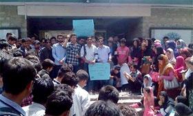 گلگت: مصطفوی سٹوڈنٹس موومنٹ کے زیراہتمام سانحہ صفورا کراچی کی پرزور مذمت