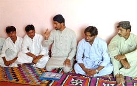 ایم ایس ایم پاکستان کے مرکزی سینئر نائب صدر رانا تجمل حسین کا دورہ بلوچستان