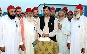 پیر السید محمد ضیاءالدین القادری الگیلانی کی سالگرہ کے موقع پر پروقار تقریب کا انعقاد