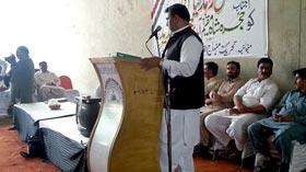 حجرہ شاہ مقیم (اوکاڑہ): پاکستان عوامی تحریک کا ورکرز کنونشن، مرکزی قائدین کی شرکت