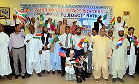 ڈائریکٹر انٹرفیتھ سہیل احمد رضا کی URI پاکستان کے زیراہتمام بین الاقوامی دعائیہ تقریب میں شرکت