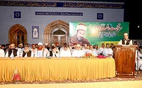 24th death anniversary of Sayyidna Tahir Alauddin al-Qadri al-Gilani observed