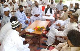 پاکستان عوامی تحریک جنوبی پنجاب کے صدر فیاض وڑائچ کا دورہ مظفرگڑھ