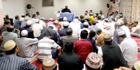 اٹلی: منہاج القرآن مسجد بریشیاء میں شب برات کا روحانی اجتماع