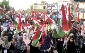 بہاولپور، پاکستان عوامی تحریک کی احتجاجی ریلی، 11 مئی