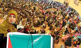 مجلس وحدت المسلمین کے زیراہتمام ''چھٹا مرج البحرین جشن''، منہاج القرآن ویمن لیگ کے وفد کی شرکت