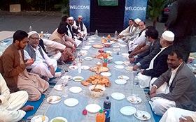 پیرس: چوہدری رزاق احمد کی جانب سے مرکز منہاج القرآن میں افطار ڈنر کا اہتمام