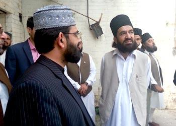 Peer Naqeeb ur Rehman visits Mega Project site