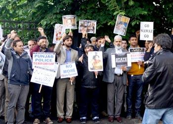 ناورے: منہاج القرآن انٹرنیشنل کا جعلی JIT رپورٹ کے خلاف احتجاجی مظاہرہ