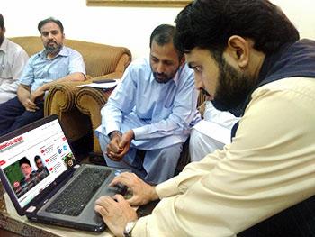 تحریک منہاج القرآن کی نئی ویب سائٹ کا افتتاح