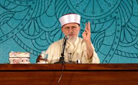 Dr Tahir-ul-Qadri addresses residents of Itikaf City 2015 (Day One)