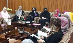 منہاج القرآن ویمن لیگ نے خواتین اعتکاف گاہ میں انتظامات کو حتمی شکل دے دی