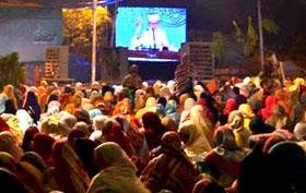 منہاج ویمن لیگ کے شہر اعتکاف میں ہزاروں خواتین شریک ہیں: فرح ناز