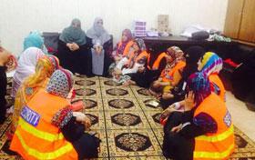 شہر اعتکاف 2015 : خواتین اعتکاف گاہ کے لیے منہاج ویمن لیگ کے بہترین حفاظتی انتظامات