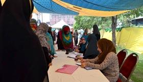 اعتکاف 2015: منہاج القرآن ویمن لیگ کی کمیٹی برائے رجسٹریشن معتکفات