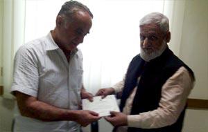 منہاج القرآن انٹرفیتھ ریلیشنز کراچی کے وفد کی ہندو راہنما جسٹس (ر) بھجن داس تجوانی سے ملاقات
