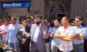 سپین: پاکستانی کمیونٹی کا سانحہ لاہور کیخلاف قونصلیٹ جنرل کے سامنے احتجاجی مظاہرہ