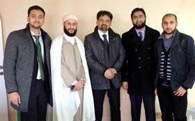 منہاج القرآن انٹرنیشنل سپین کے وفد کی اسلامک کمیشن آف سپین کے صدر منیر اندلسی سے ملاقات