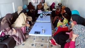 جہلم: منہاج القرآن ویمن لیگ کا تنظیمی اجلاس، دعوتی اور تربیتی پروگرامز کا تعارف