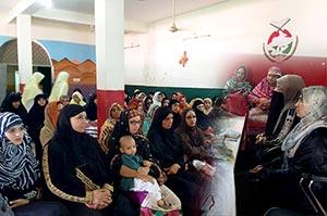 گجرات: منہاج القرآن ویمن لیگ کی مرکزی عہدیداران کا تنظیمی دورہ