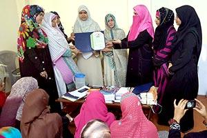 میرپور: منہاج القرآن ویمن لیگ کی مرکزی قیادت کا تنظیمی دورہ آزاد کشمیر