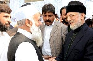 نارنگ منڈی: تحریک منہاج القرآن کے وفد کی پیر حسین شاہ سے ملاقات، مصطفوی مشن کی معاونت پر اظہارِ تشکر