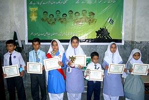 جہلم: یوم دفاع کی مناسبت سے ایم ایس ایم سسٹرز کا تقریری مقابلہ