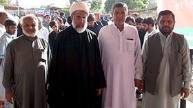 اسلام آباد: 9 محرم کے مرکزی جلوس میں شیخ الاسلام ڈاکٹر محمد طاہرالقادری کی کتب و سی ڈیز کا اسٹال