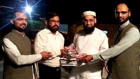 وفاق المدارس پاکستان کے چیئرمین مولانا حنیف جالندھری سے منہاج القرآن انٹرفیتھ ریلیشنز کے مرکزی وفد کی ملاقات