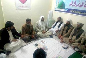 کوئٹہ: مرکزی نائب ناظم اعلیٰ احمد نواز انجم کی مختلف شعبہ ہائے زندگی سے تعلق رکھنے والی شخصیات سے ملاقاتیں