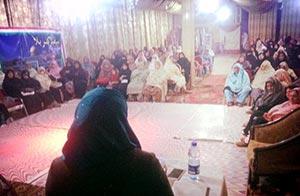 پشاور: منہاج القرآن ویمن لیگ کے زیراہتمام سیدہ زینب (رض) کانفرنس