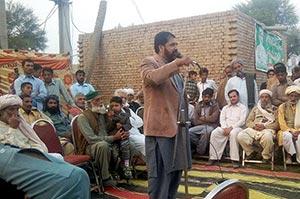 جھنگ: پاکستان عوامی تحریک کے مرکزی سیکرٹری کوآرڈینیشن کا دورہ