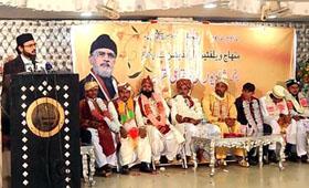 12 Couples Wedlock at MWF Gujrat Ceremony