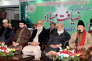 لاہور: منہاج القرآن انٹرنیشنل کے مرکزی سیکرٹریٹ پر 10 روزہ ضیافت میلاد تقریبات جاری