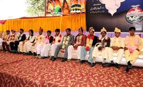 Congregational marriage ceremony held under MWF Faisalabad